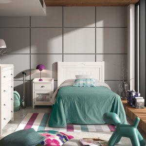 Dormitorio Juvenil Besora 15J Grupo Seys Muebles Toscana