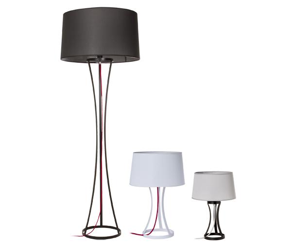 Lámparas de pie y mesa