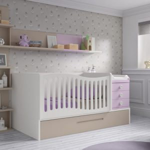 Dormitorio infantil, cuna