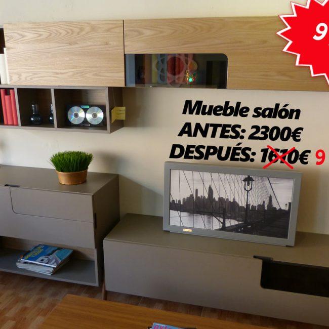 Mueble de salón rebajado a 990€