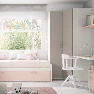 Dormitorio juvenil tono Duna