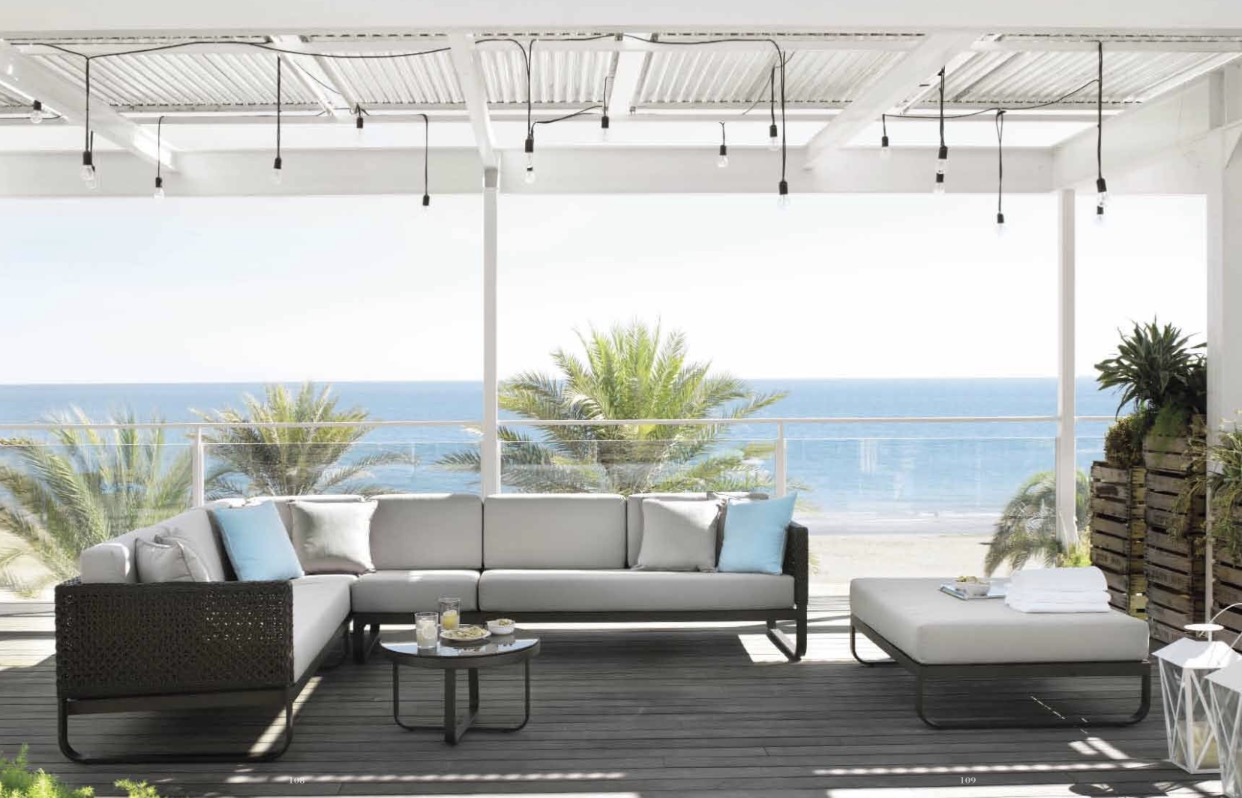 Sofa de exterior Muebles Toscana