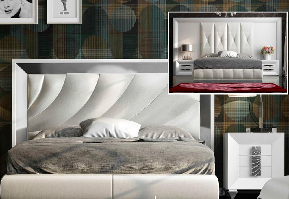 Dormitorios tapizados de Muebles Toscana