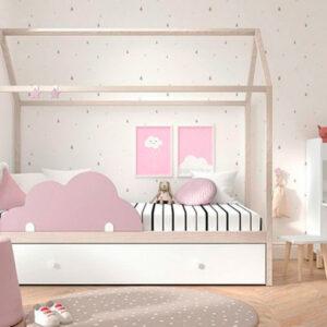 Cama casita nido 31 Mood Kids Muebles Toscana