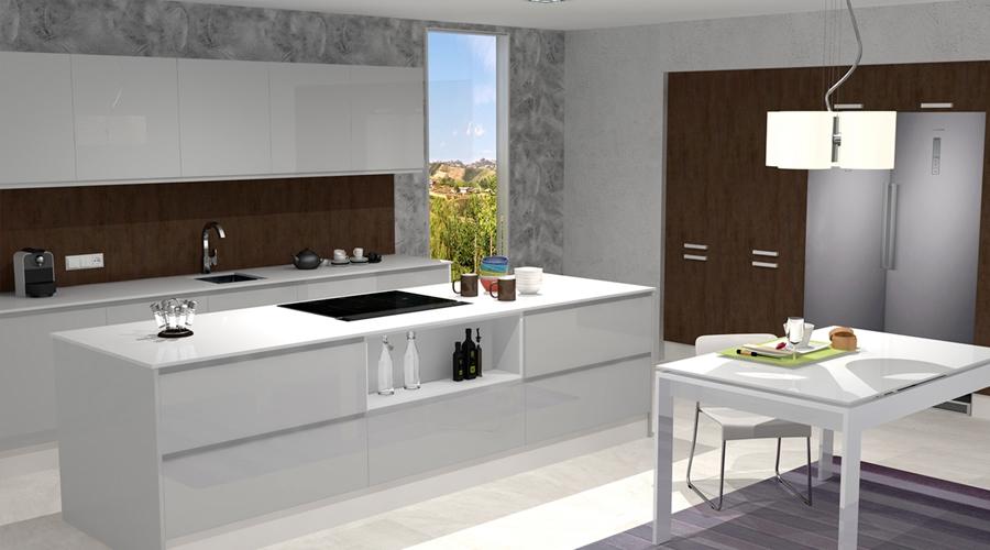 Proyecto 3D Muebles Toscana Cocina 4