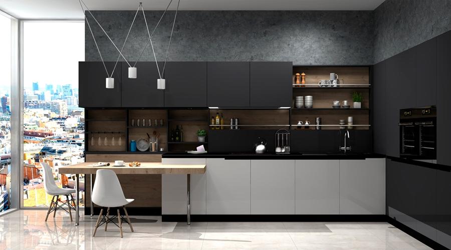 Proyecto 3D Muebles Toscana Cocina 2