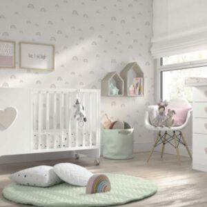 Cuna 03 Soft Laca de Ros Muebles Toscana