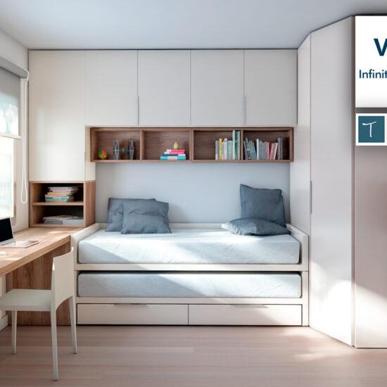 Dormitorios juveniles Vita_Muebles Toscana