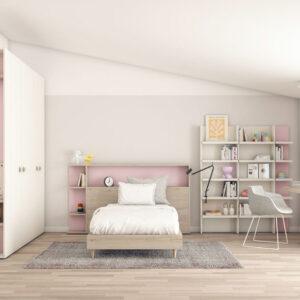 Dormitorio juvenil-Vita-01-Muebles-Toscana