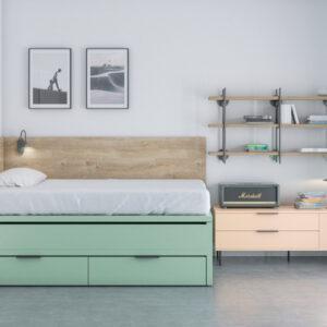 Dormitorio juvenil VITA_06_JJP_Muebles Toscana