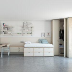 cama compacta juvenil VITA_07 JJP__armario_Muebles Toscana