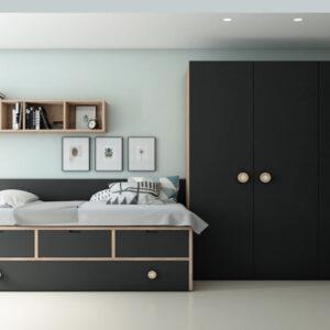 Dormitorio juvenil Vita 10 Muebles Toscana