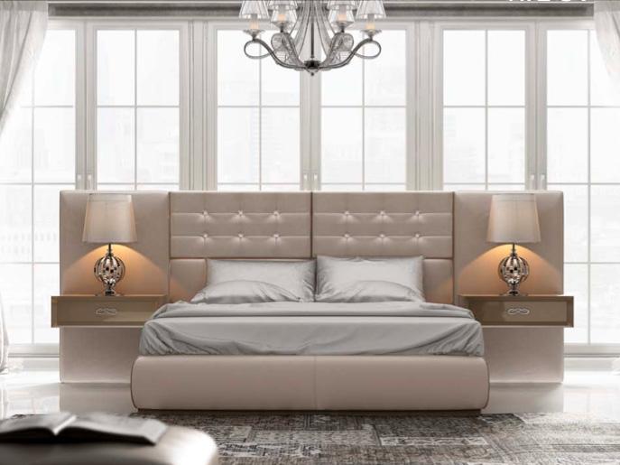 Dormitorio contemporáneo de Muebles Toscana