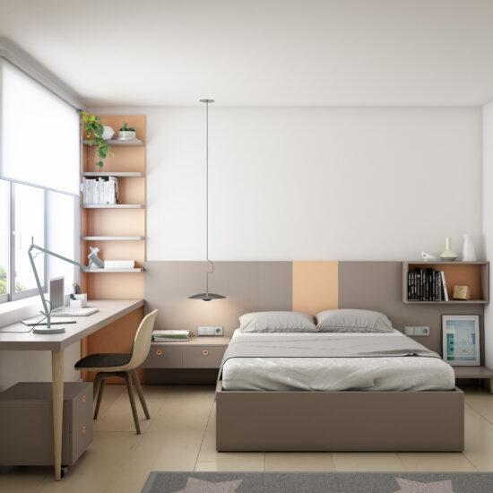 Dormitorios-juveniles-con-escritorio-Muebles-Toscana