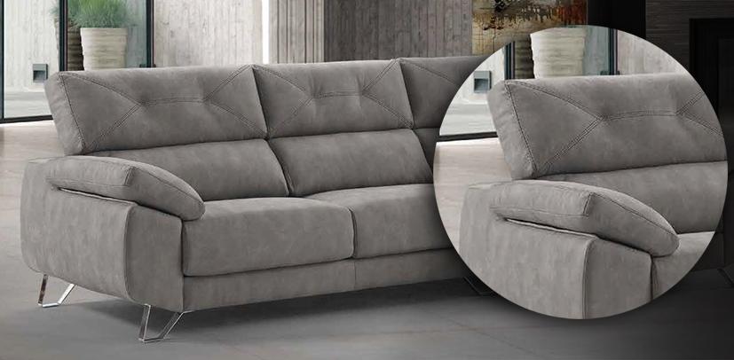 Sofa Goya Relax respaldo alto. Muebles Toscana