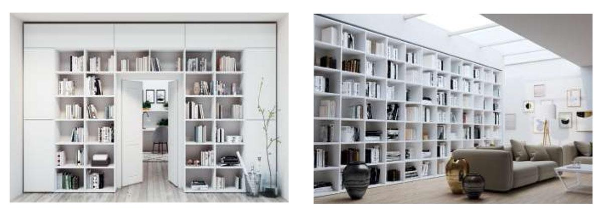 Libreria Qubic25 de Piñero y cabrero de Muebles Toscana 3