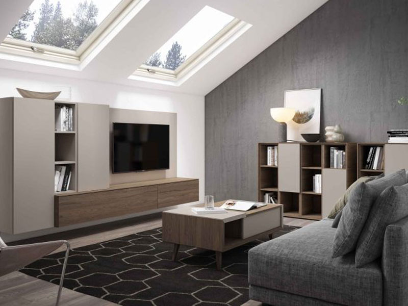 Salón moderno Lanmobel 27 Muebles Toscana