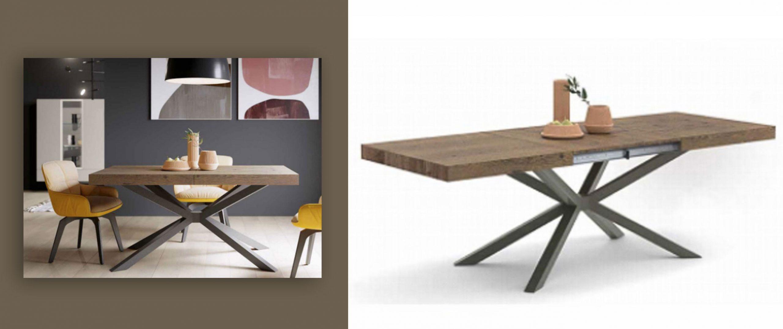 Mesa comedor Ckron extensible Muebles Toscana