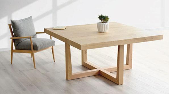 Mesa de comedor de estiloValnott nordico de muebles Toscana