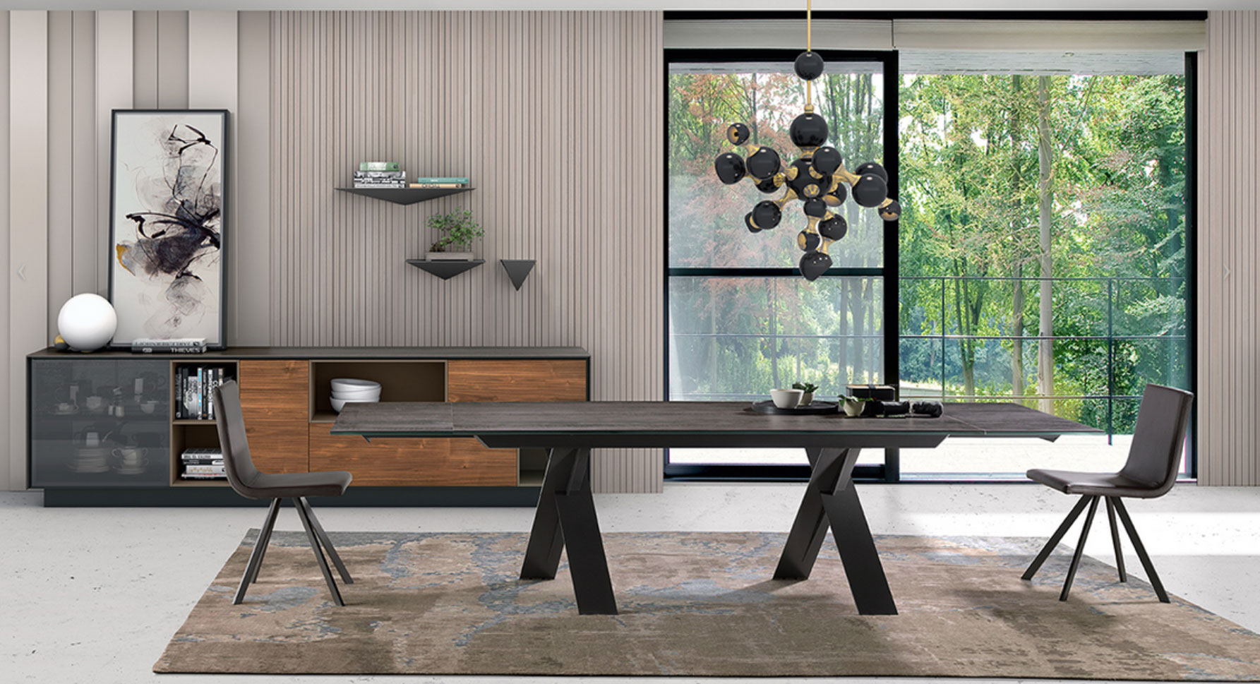 Mesa comedor Xenon Muebles Toscana