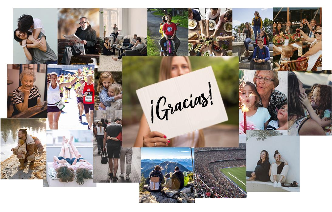 Fotos de personas felices y unidas