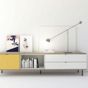 Mueble de Salón Modular Vita JJP 01 Muebles Toscana