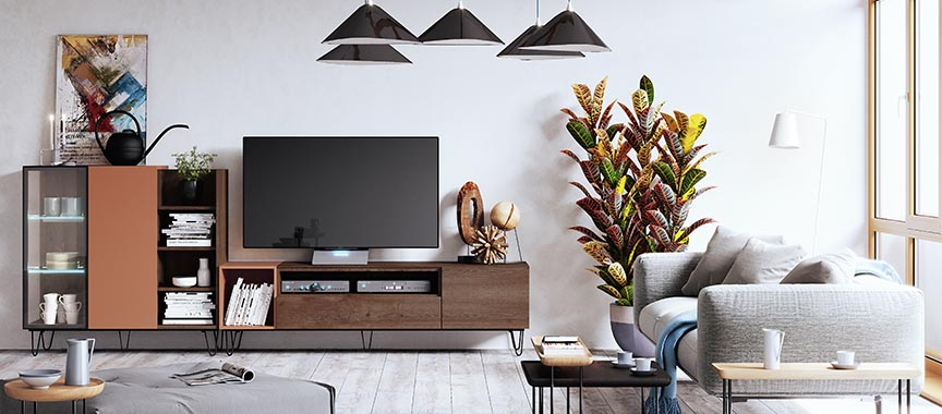 Mueble de salon modular