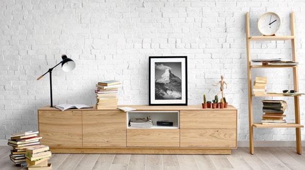 Mueble TV estilo nordico de muebles Toscana