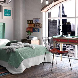 Muebles Toscana dormitorio juvenil vintage