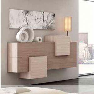 Muebles Toscana aparador moderno puertas abatibles
