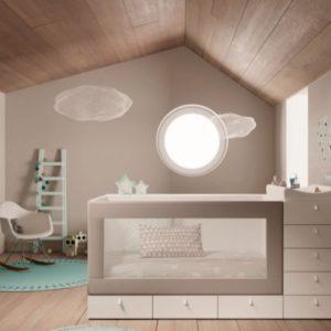 Muebles Toscana Cuna Cubos