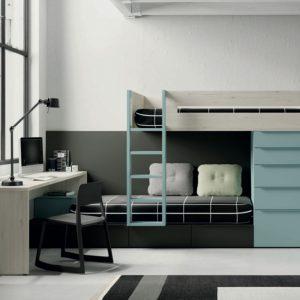 Muebles Toscana dormitorio JJP