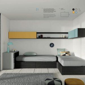 Muebles Toscana dormitorio JJP2