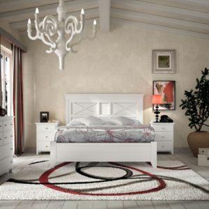 Muebesl Toscana dormitorio colonial lineas rectas
