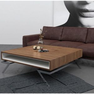 Muebles Toscana mesa de centro moderna cuadrada