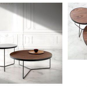 Muebles Toscana juego de mesas redondas