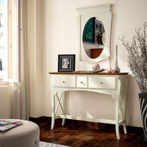 Muebles Toscana recibidor colonial clásico