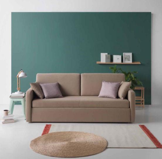 Sofá cama moderno 3 plazas con pieza nido | Muebles Toscana - photo#50