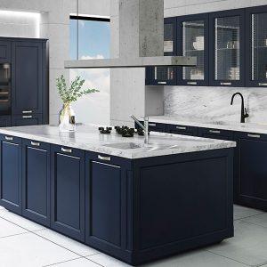 Cocina 07 classic azul_Muebles_Toscana