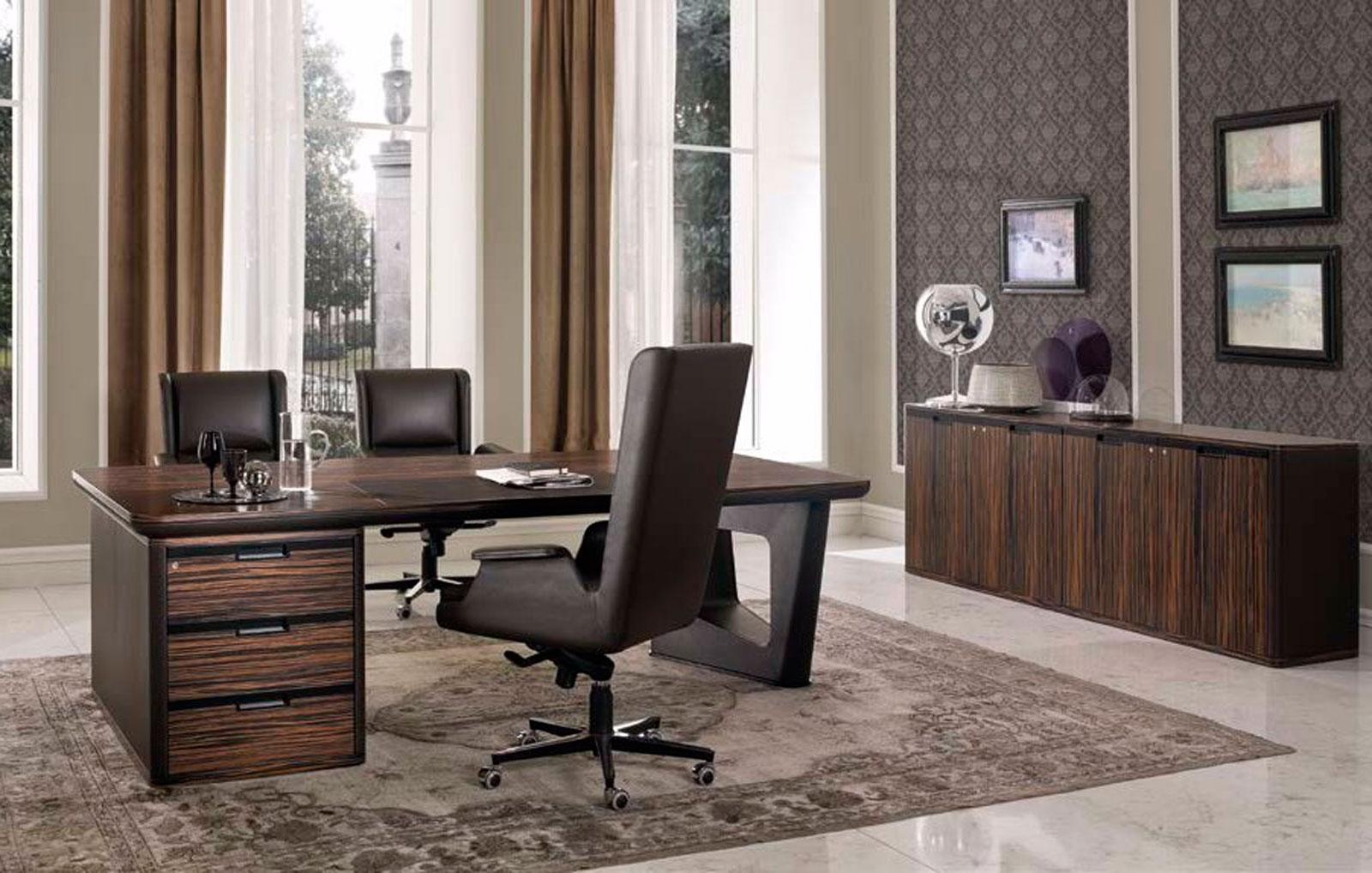 Despacho clásico de Muebles Toscana