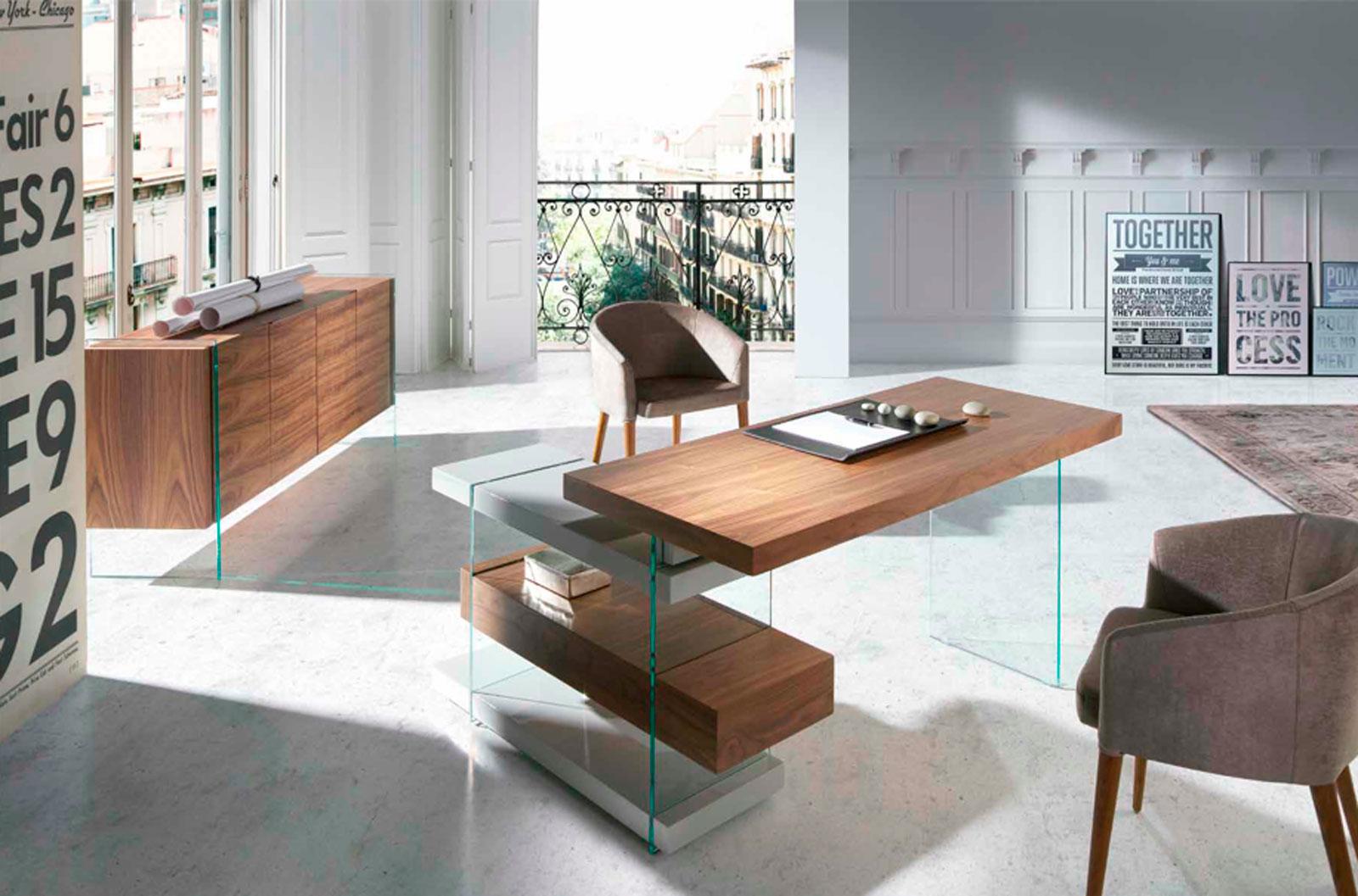 Despacho moderno y elegante de Muebles Toscana