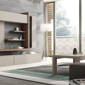 Salón moderno Netro 9 de Messegue muebles Toscana