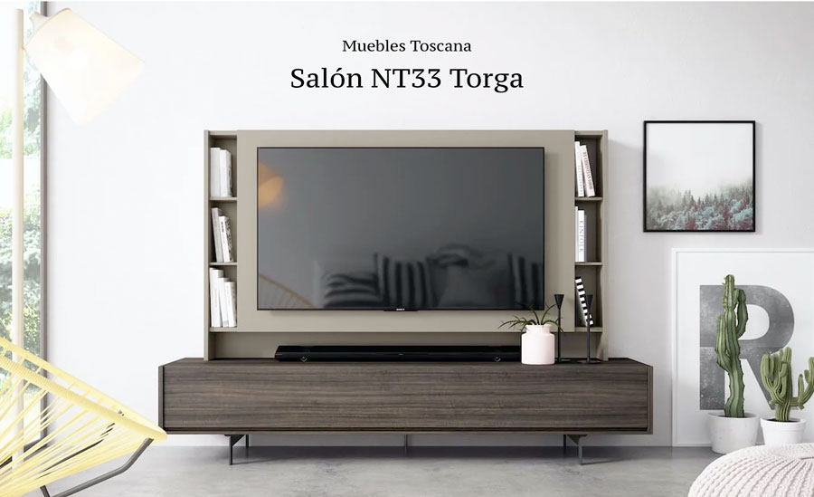 Salon NT33 Torga Muebles Toscana