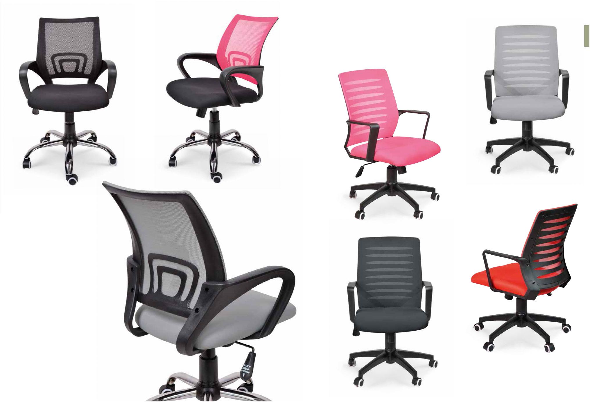 Tipos de Sillas escritorio Muebles Toscana