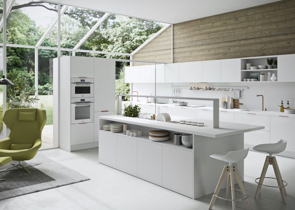 Cocina blanca moderna People