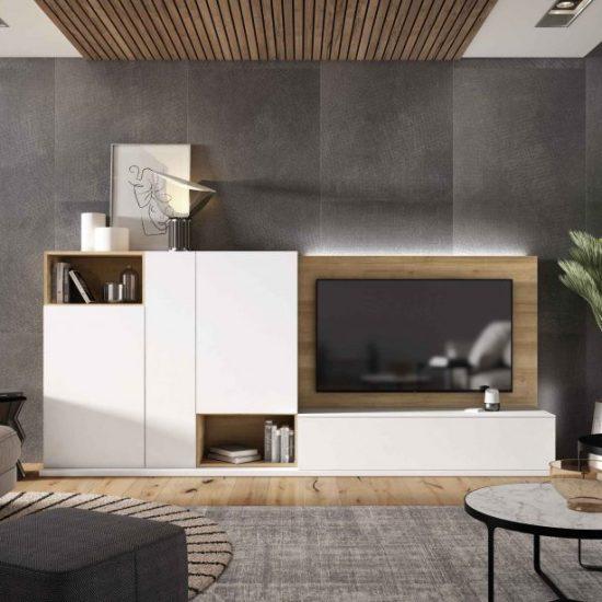 Mueble de salón moderno de Muebles Toscana