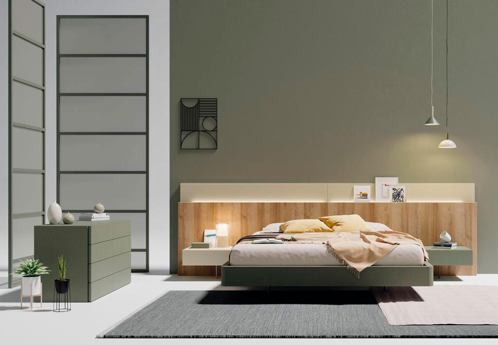 Dormitorios completos Paralex lagrama Muebles Toscana