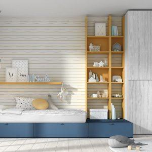Dormitorio juvenil Mood Kids bloc 32 Muebles Toscana