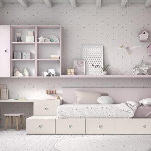 Dormitorio juvenil Mood Kids bloc 31 Muebles Toscana