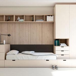 cama nido 17A JJP Muebles Toscana